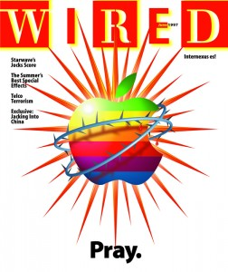 1997-es Wired címlap: Pray